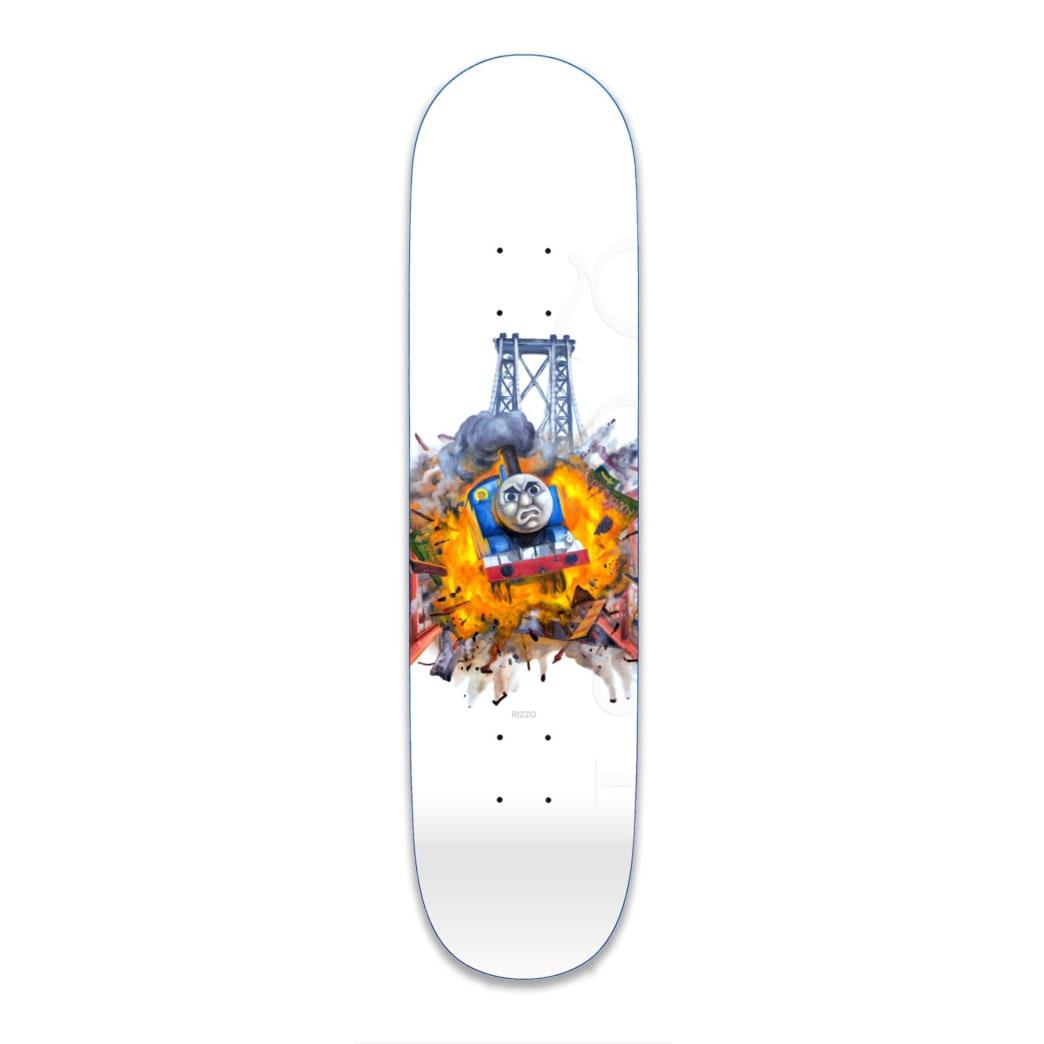 "Quasi Rizzo Crazy Train Skateboard Deck - 8.5"" | Deck by Quasi Skateboards 1"