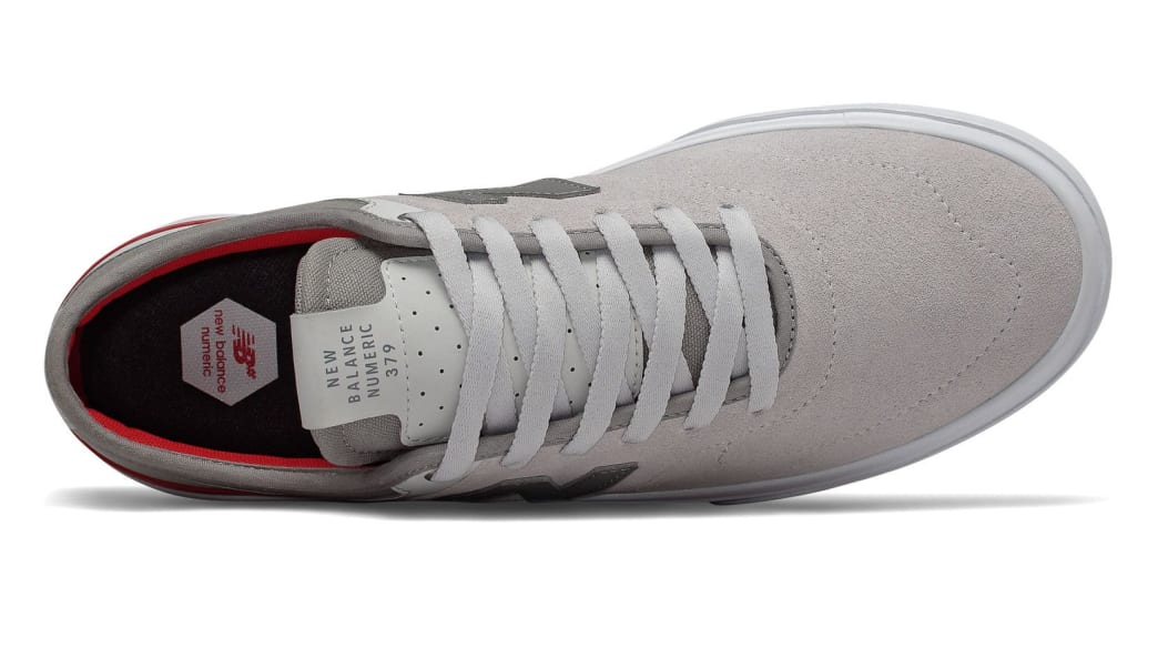 New Balance Numeric 379 Skate Shoe - Grey / Red / White | Shoes by New Balance 3