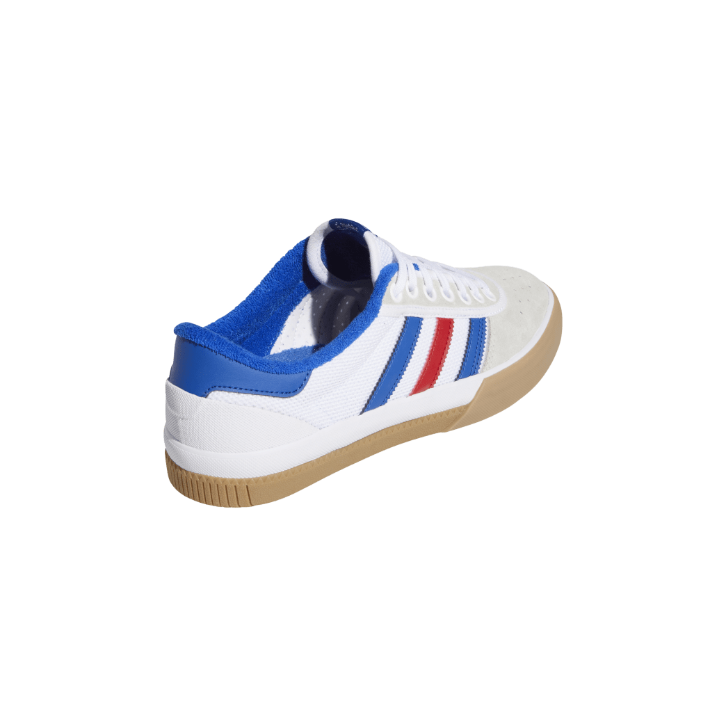 adidas Lucas Premiere Skate Shoes - FTWR White / Collegiate Royal / Crystal White | Shoes by adidas Skateboarding 6