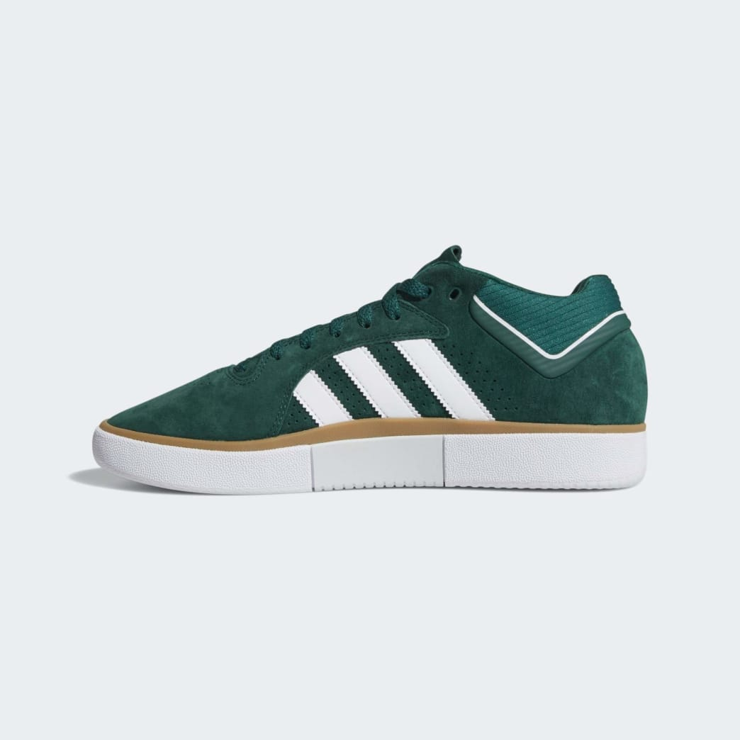 adidas Tyshawn Jones Shoes - Collegiate Green/Cloud White/Gum | Shoes by adidas Skateboarding 6