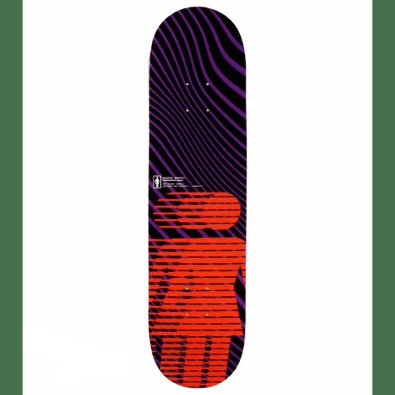 "Girl National Hero Andrew Brophy Pop Secret Skateboard Deck - 8"" | Deck by Girl Skateboards 1"