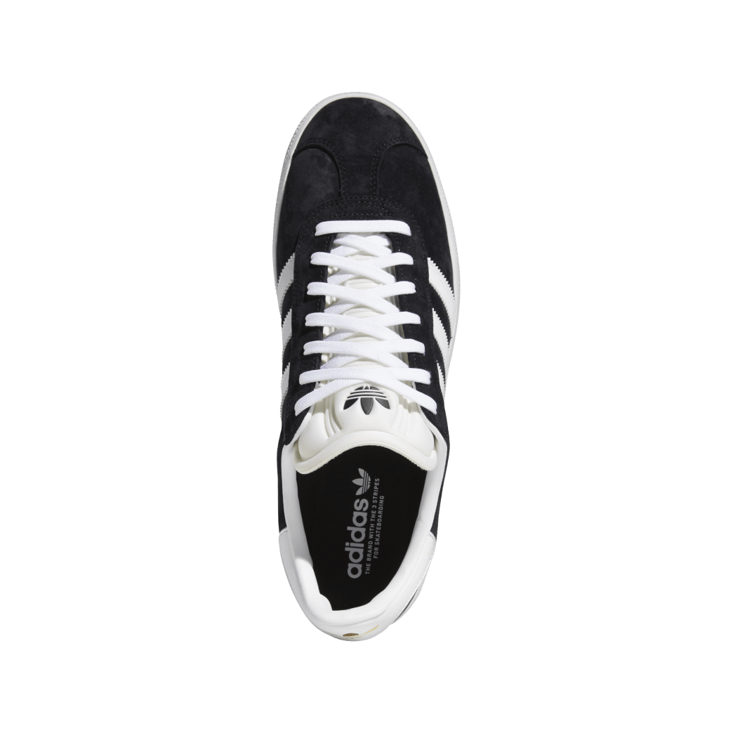 adidas Skateboarding Gazelle ADV Shoes - Core Black / FTWR White / Gold Met | Shoes by adidas Skateboarding 2