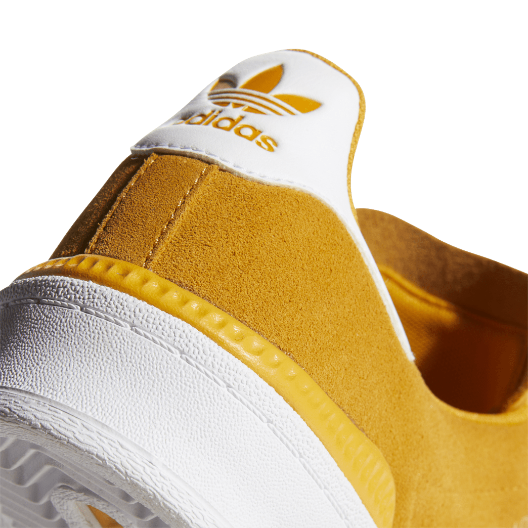 adidas Campus ADV Skate Shoes - Tactile Yellow / Cloud White / Gold Metallic | Shoes by adidas Skateboarding 8