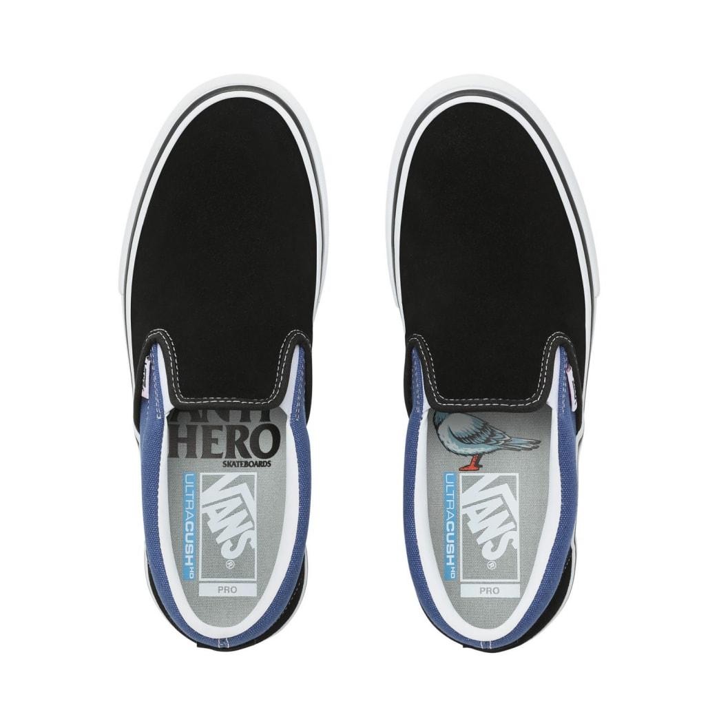 Vans x Anti Hero Slip On Pro Skate Shoe - Blue/Black | Shoes by Vans 2