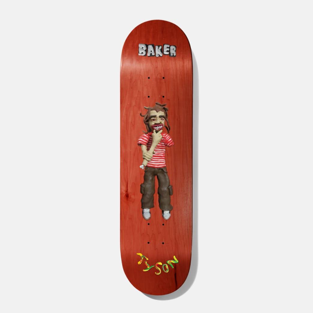 Baker Skatebords Tyson Peterson Kazi Skateboard Deck - 8.38 (Various WoodStain) | Deck by Baker Skateboards 1