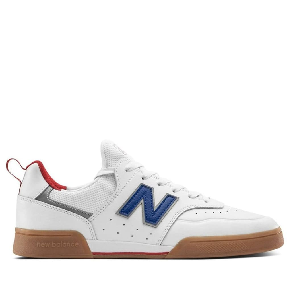 New Balance Numeric 288 Sport Skate Shoe - White / Royal Blue | Shoes by New Balance 1