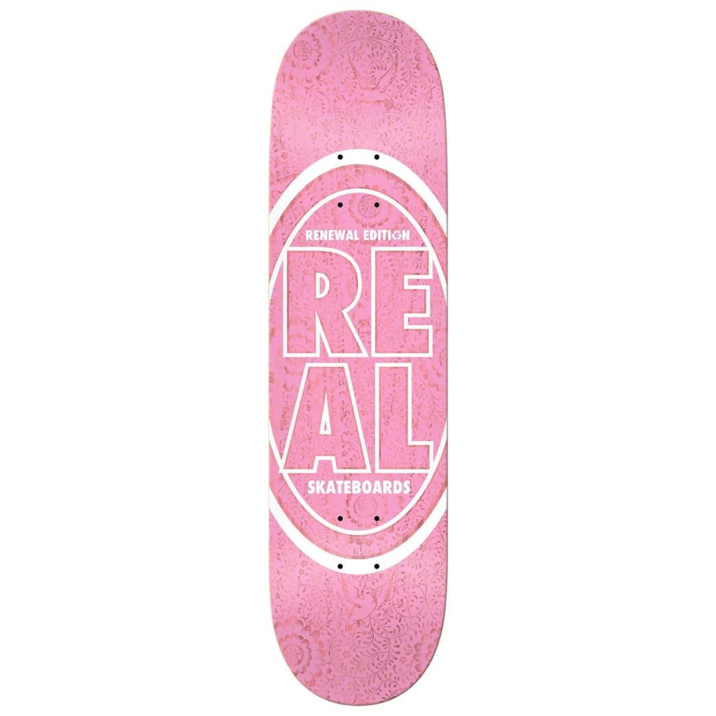 real floral renewal ii deck 8.06 pink | Deck by Real Skateboards 1