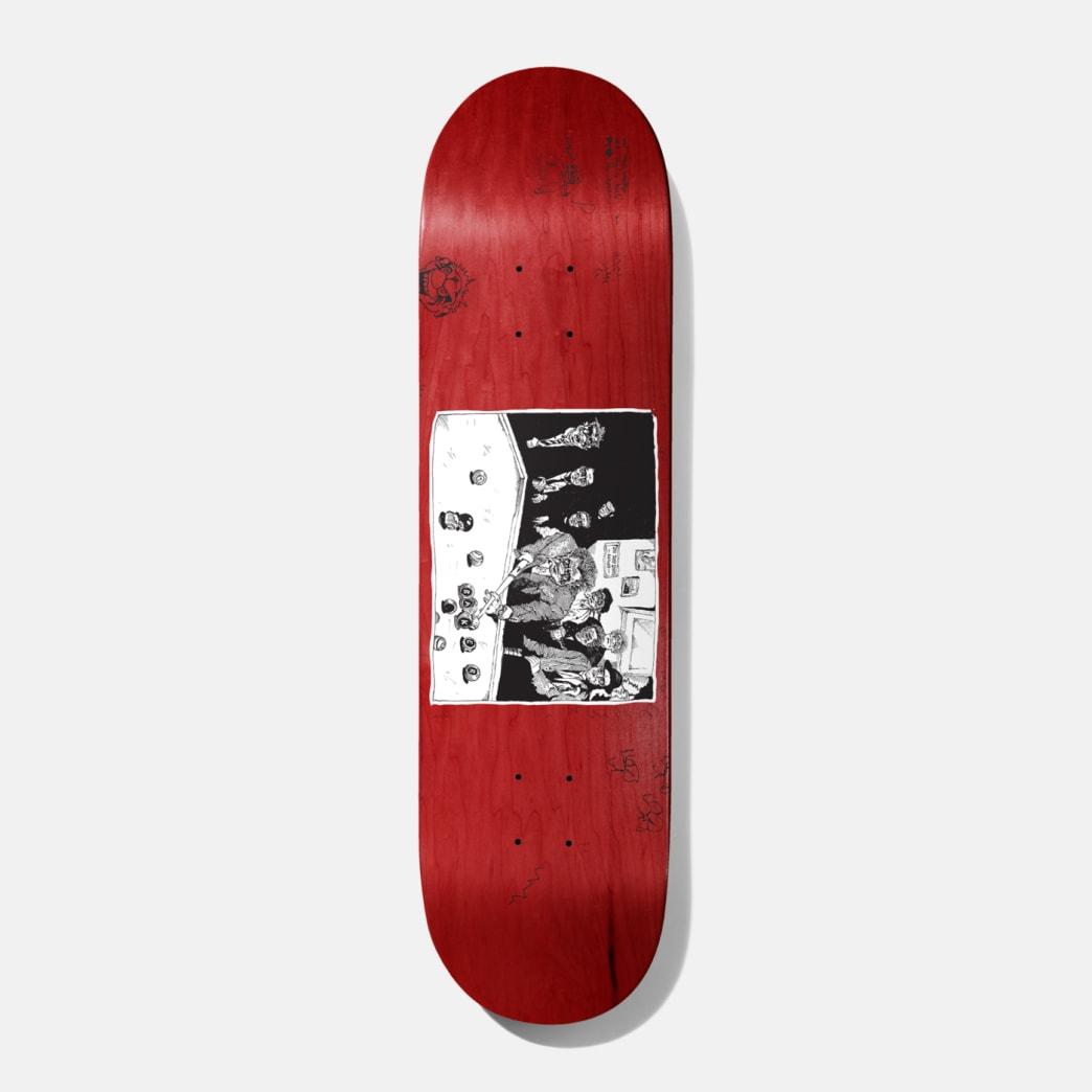 Baker Skateboards Santino Team Skateboard Deck - 8.5 (Various Wood Stain)   Deck by Baker Skateboards 1