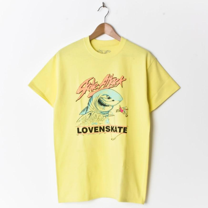 Lovenskate Skate Attack - Yellow | T-Shirt by Lovenskate 1