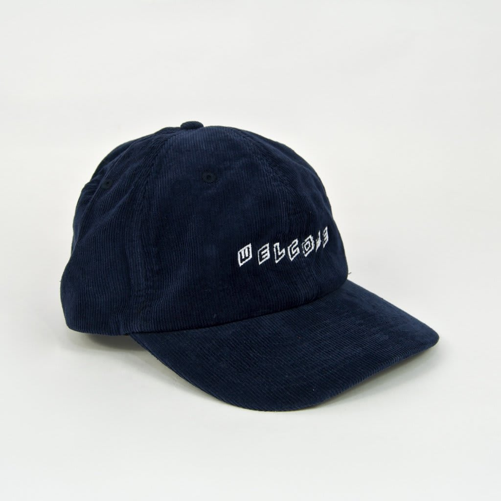 Welcome Skate Store - Twist Cord Cap - Navy | Baseball Cap by Welcome Skate Store 1