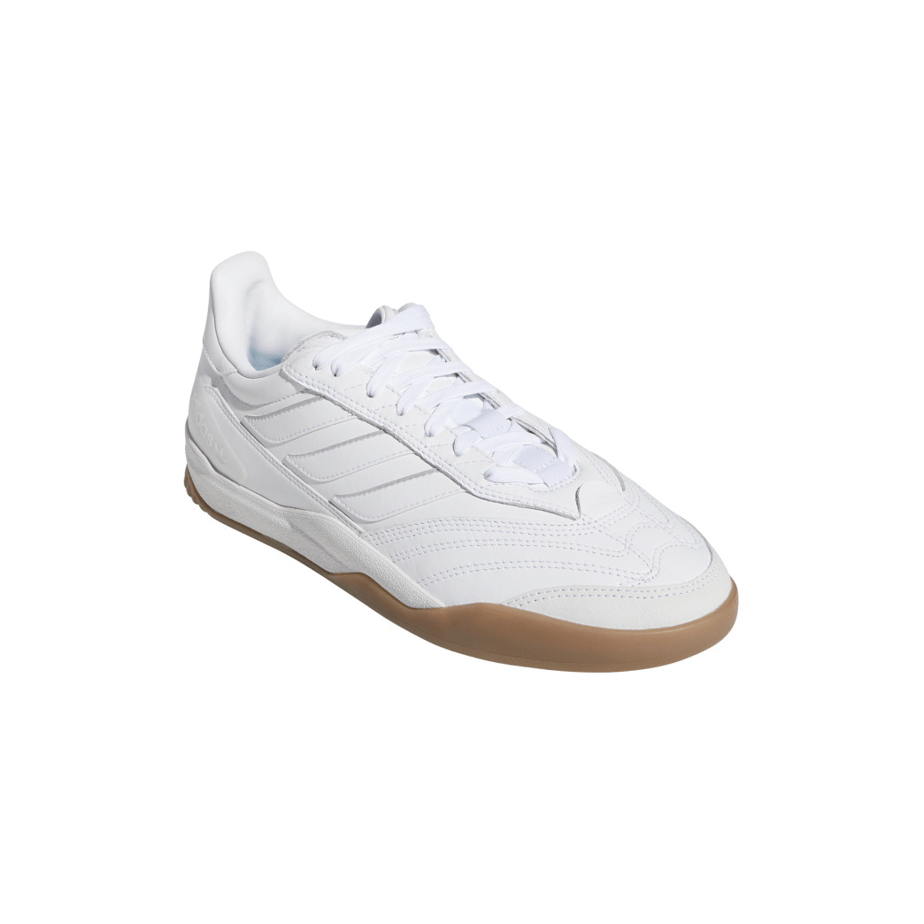 adidas Copa Nationale Skate Shoe - FTWR White / Silver Met / Gum | Shoes by adidas Skateboarding 5