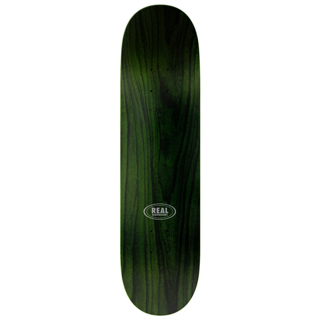 Real Team Bold Series Green Deck 8.38 | Deck by Real Skateboards 2