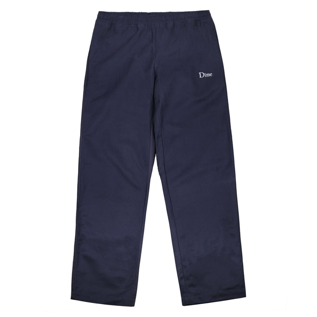 Dime Twill Pants - Navy | Trousers by Dime MTL 1