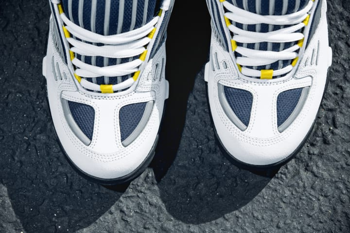 eS Omega Skate Shoe - White / Navy | Shoes by eS Shoes 4