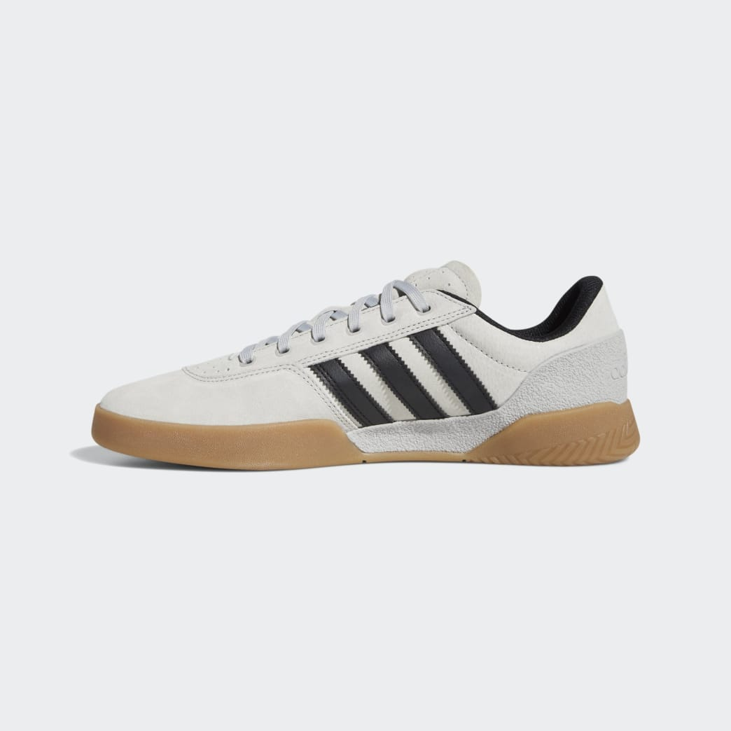 Adidas City Cup Shoes - Grey 2/Core Black/Gum 4 | Shoes by adidas Skateboarding 5