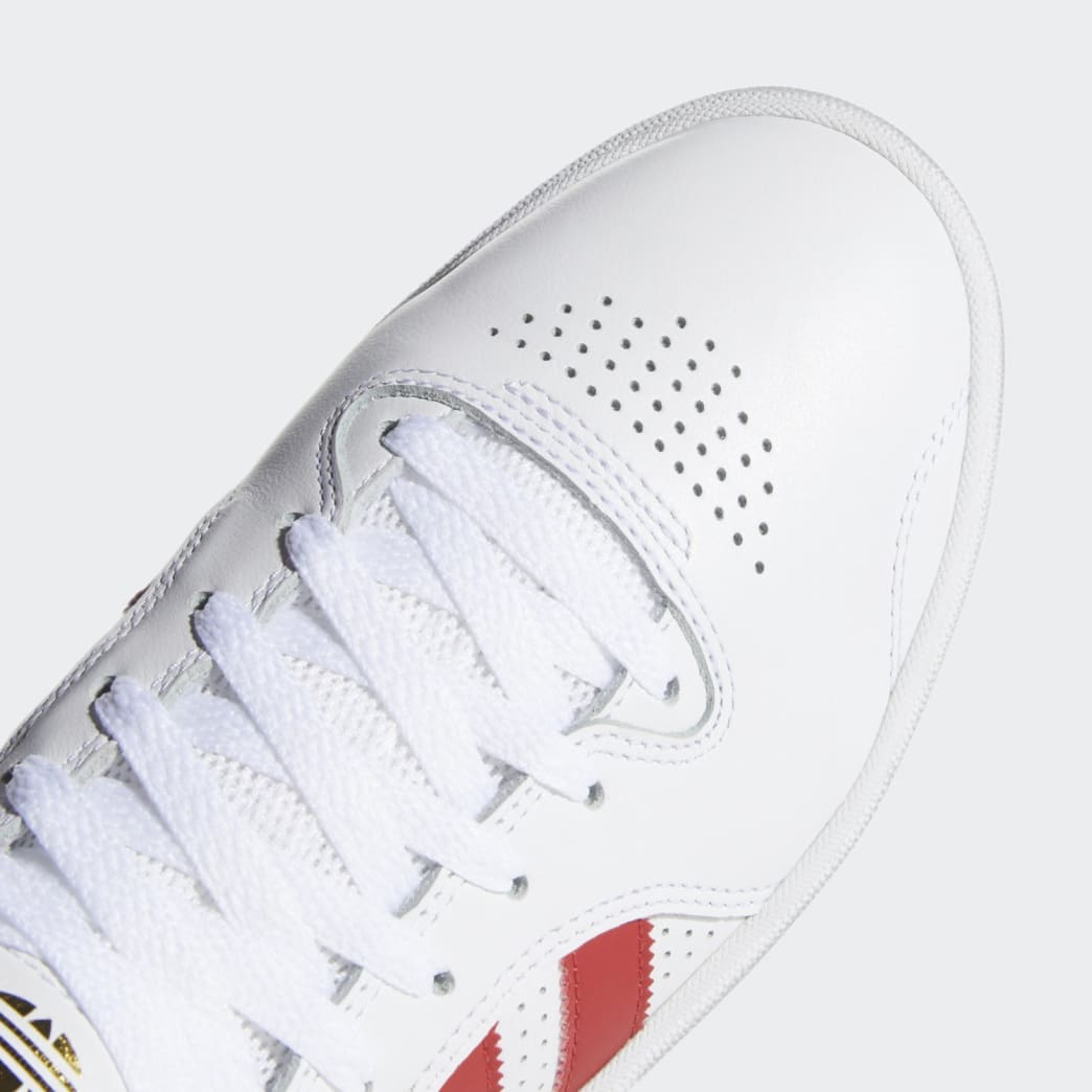 adidas Tyshawn Jones Shoes - FTWR White/Scarlett/FTWR White | Shoes by adidas Skateboarding 9