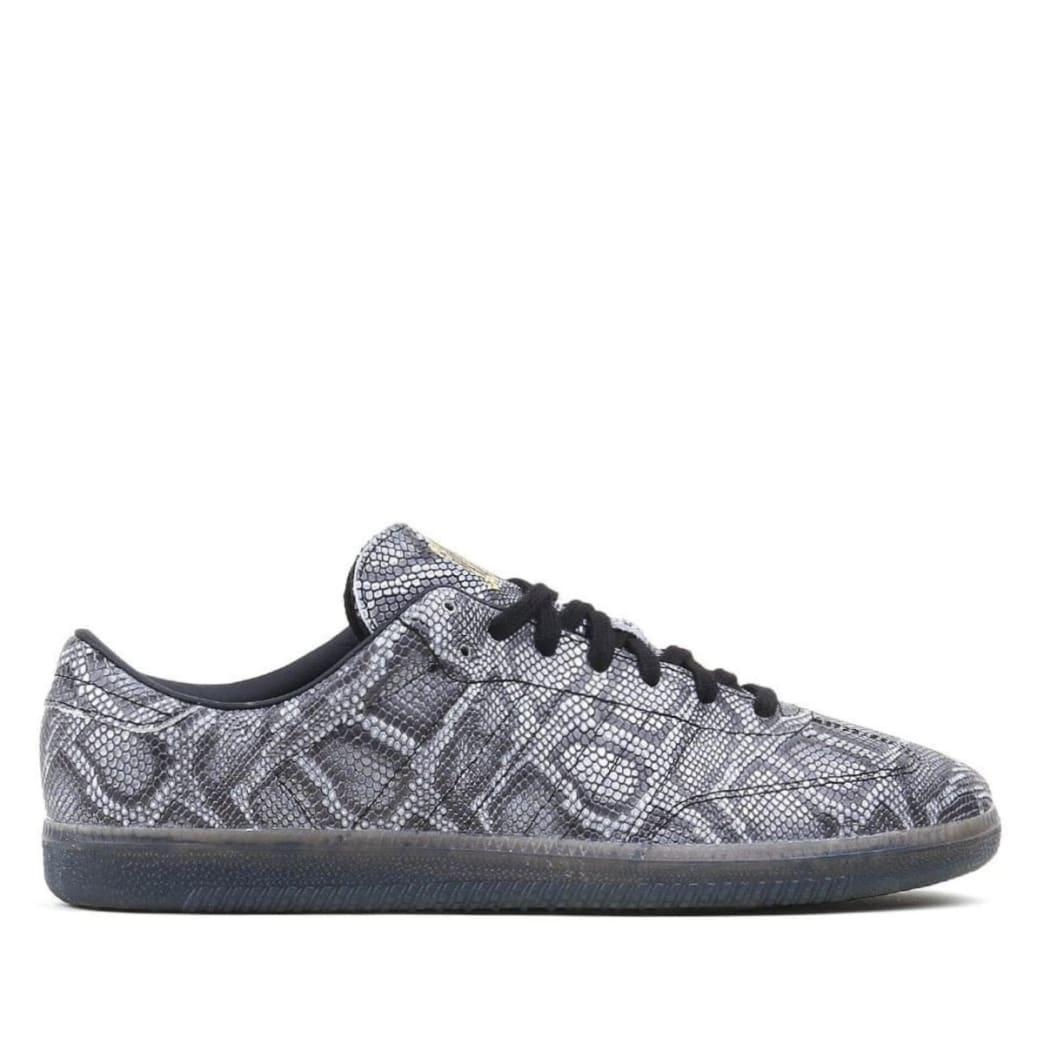 adidas Samba x Jason Dill Skate Shoe - Snakeskin / Core Black / Gold Metallic | Shoes by adidas Skateboarding 1