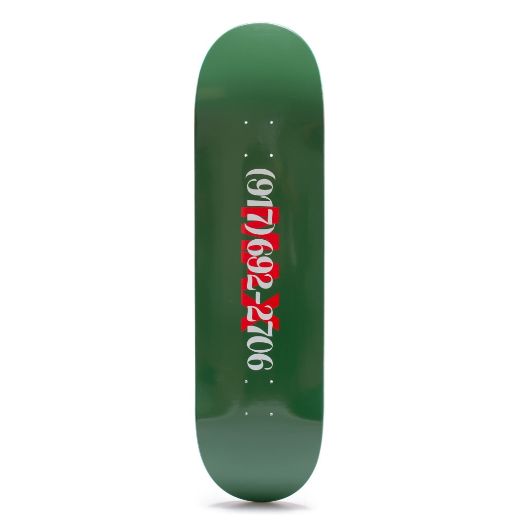 Call Me 917 Max Dialtone Skateboard Deck - 8.38"