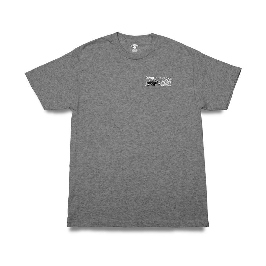 Quartersnacks Pest Control T-Shirt - Heather Grey | T-Shirt by Quartersnacks 2
