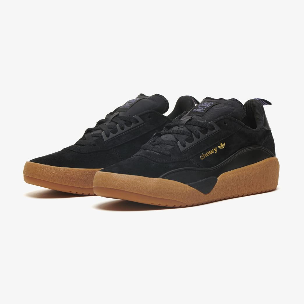 adidas Liberty Cup Chewy Cannon Skateboarding Shoe - Core Black/Gold Metallic/Gum 2 | Shoes by adidas Skateboarding 2