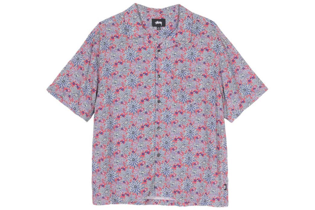Stussy - Floral Print Shirt   Shirt by Stussy 1