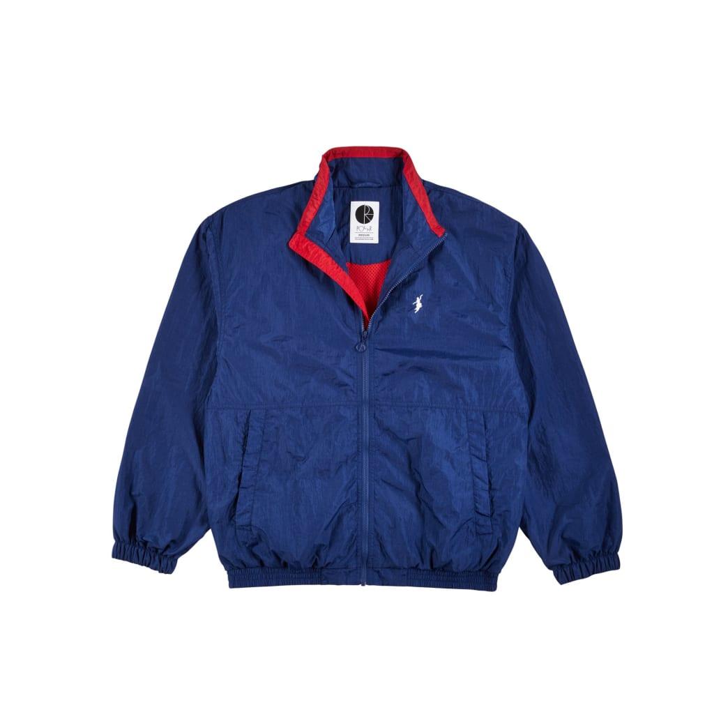 Polar Skate Co Track Jacket - Blue / Red | Track Jacket by Polar Skate Co 1