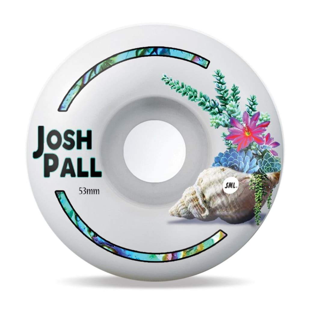 SML Wheels Josh Pall- Tide Pool 53mm V-Cut | Wheels by Sml Wheels 1