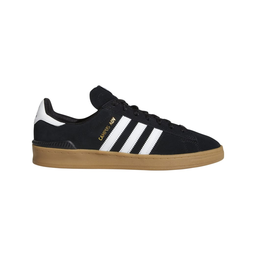 Adidas Campus ADV - Core Black / White / Gum | Shoes by adidas Skateboarding 1