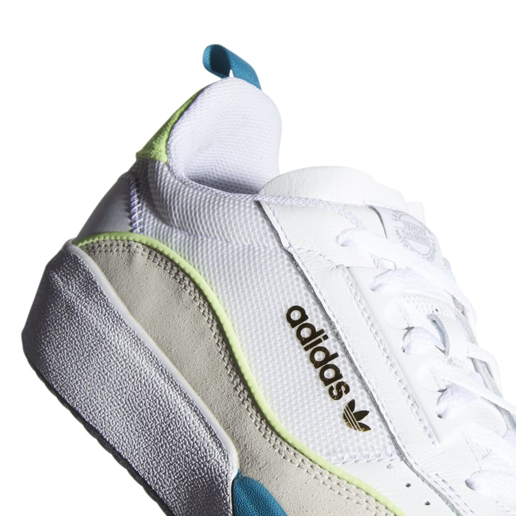 adidas Liberty Cup Skateboarding Shoe - Cloud White/Chalk White/Hi-Res Yellow | Shoes by adidas Skateboarding 7