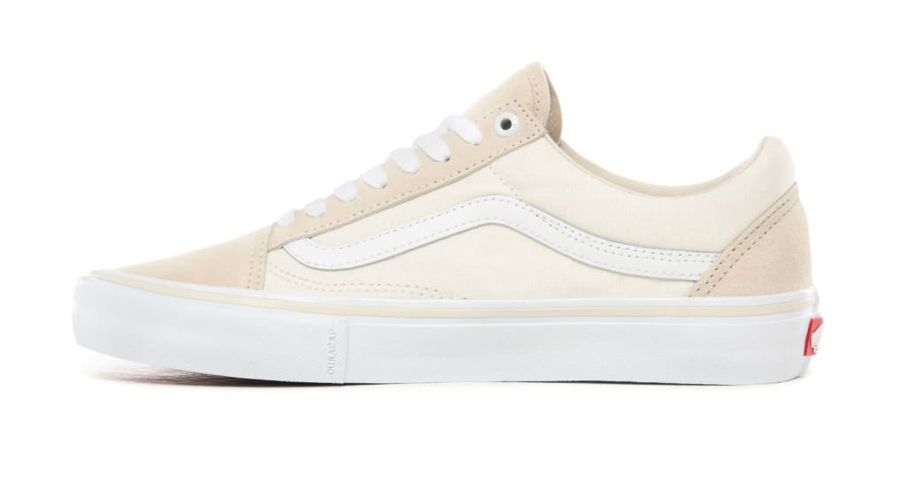 Vans Old Skool Pro Skate Shoes - Marshmallow / White | Shoes by Vans 5