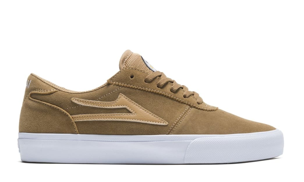 Lakai Manchester Griffin Gass Suede Skate Shoes - Walnut | Shoes by Lakai 2
