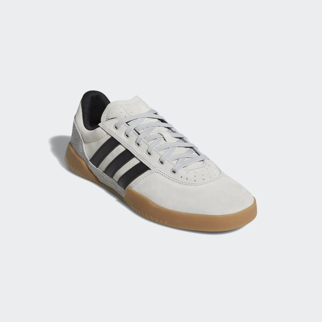 Adidas City Cup Shoes - Grey 2/Core Black/Gum 4 | Shoes by adidas Skateboarding 4