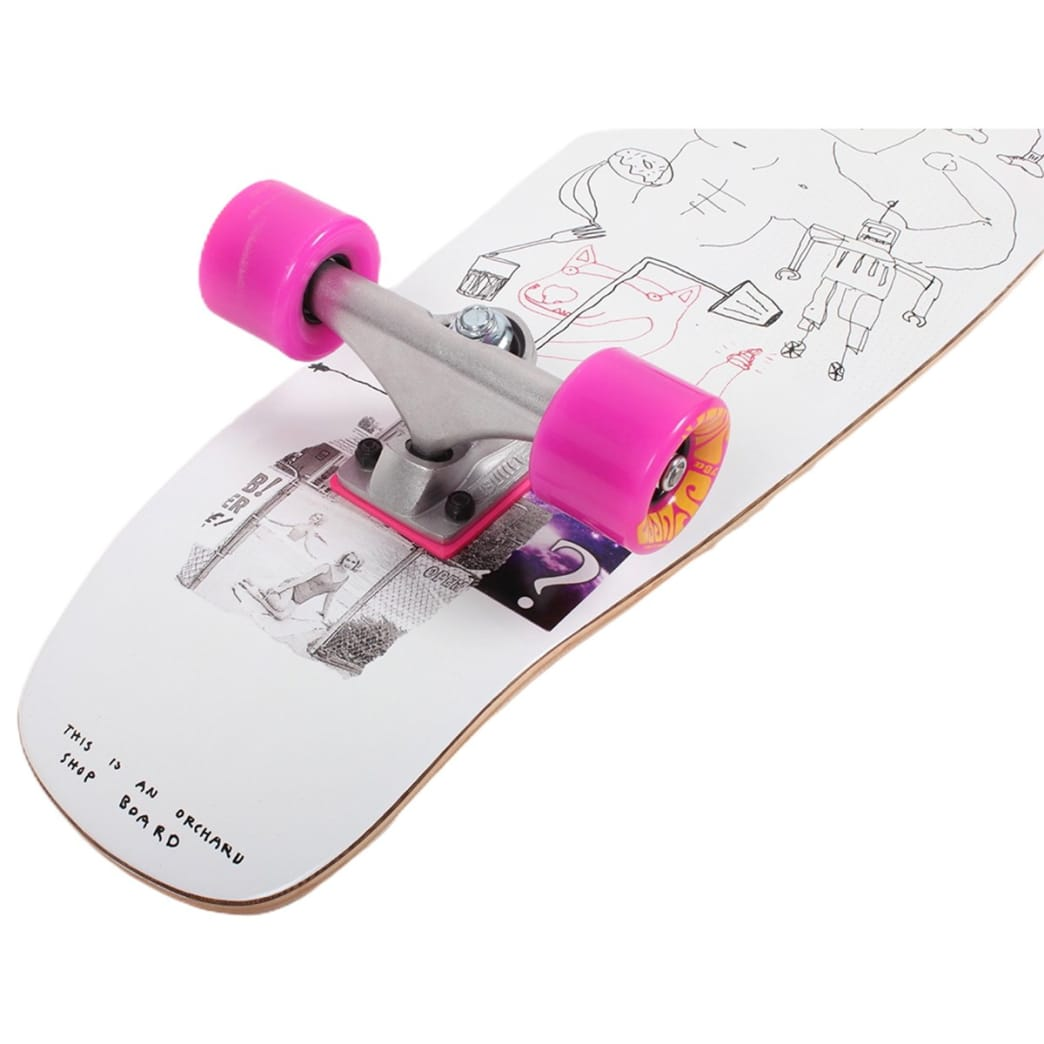 Orchard Sageman Smiling Dog Mini Cruiser Complete 7.8 X 29 | Complete Skateboard by Orchard 2