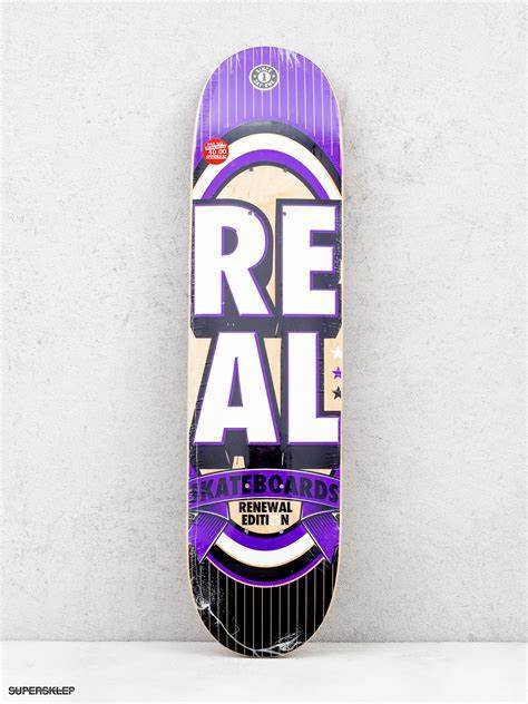 Real renewal Stacked mini 7.21 | Deck by Real Skateboards 1