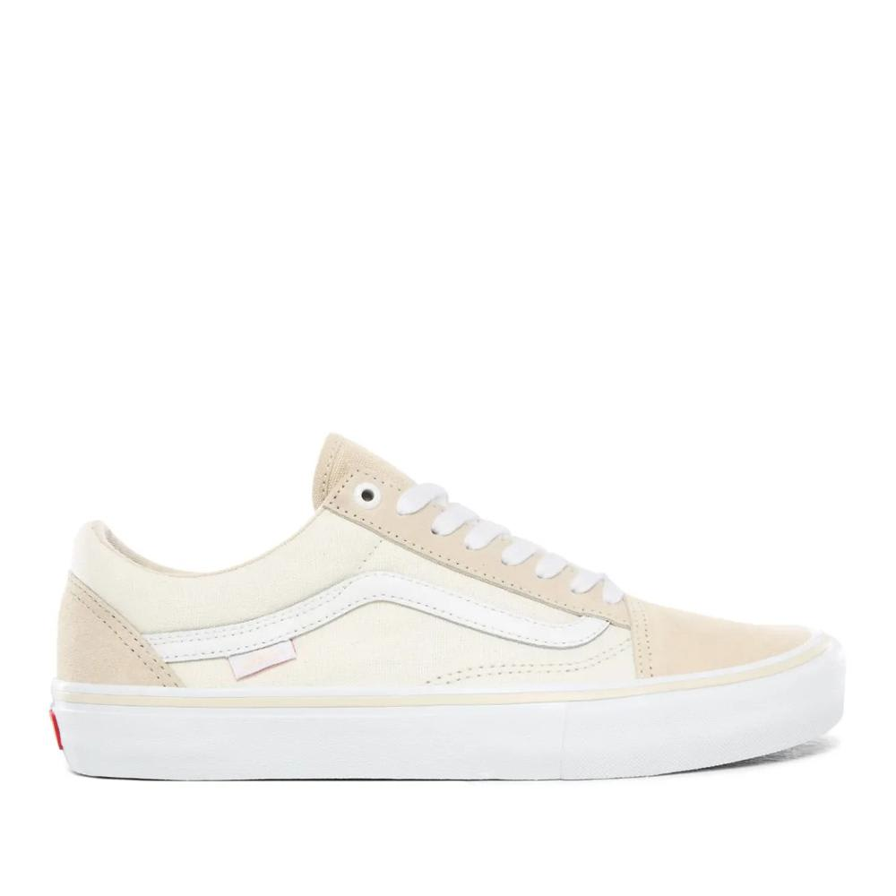 Vans Old Skool Pro Skate Shoes - Marshmallow / White | Shoes by Vans 1