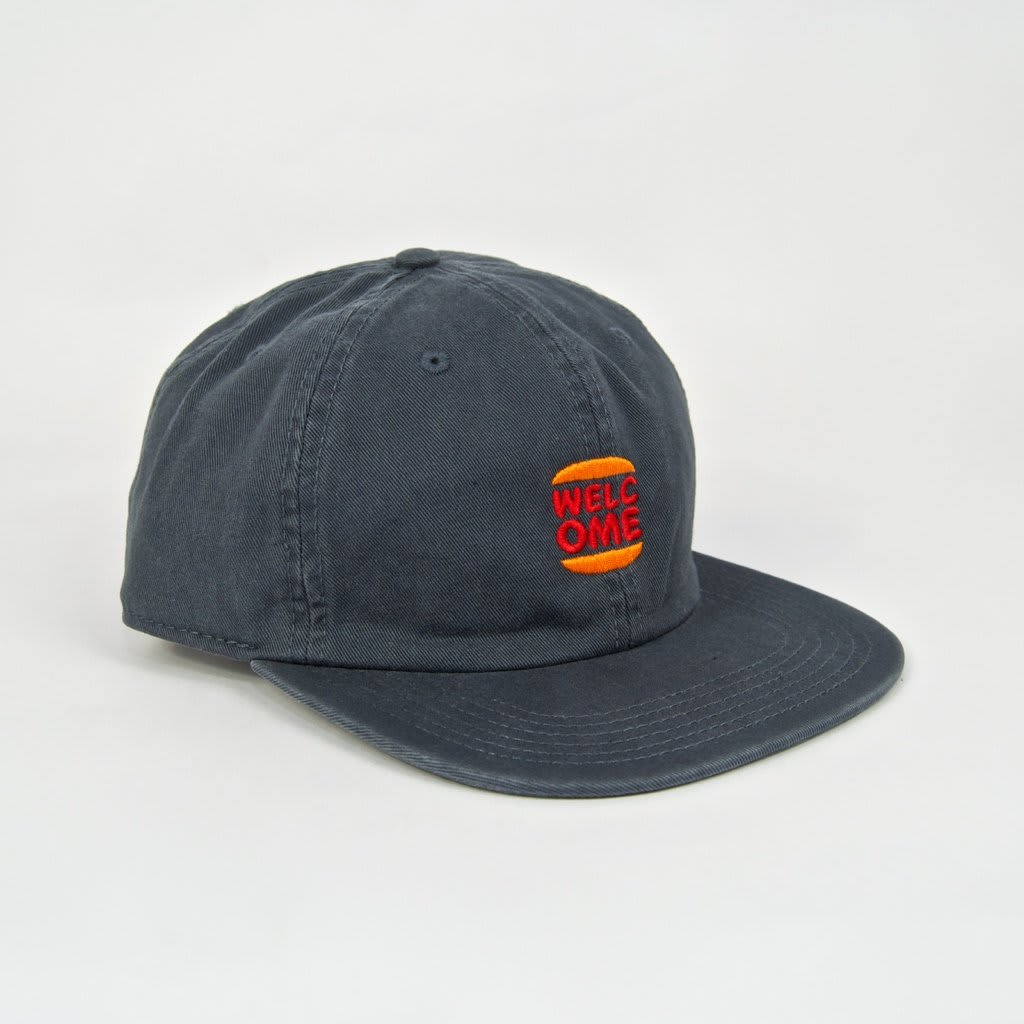 Welcome Skate Store - Burger Cap - Petrol | Baseball Cap by Welcome Skate Store 1