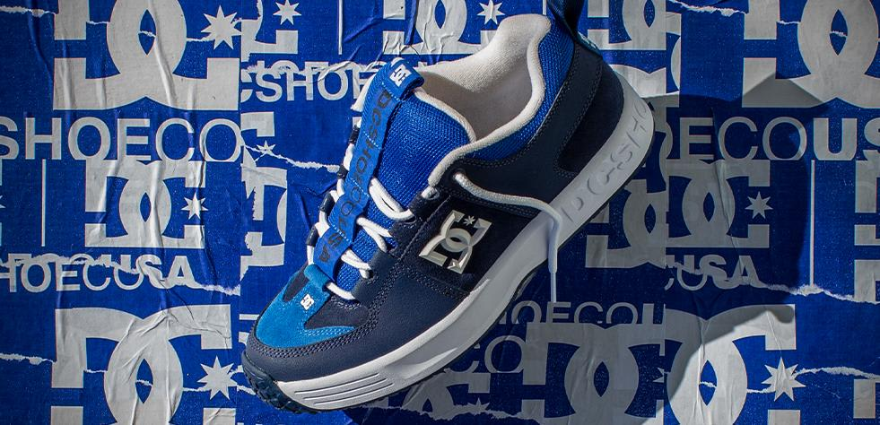 DC Shoes Lynx OG Skateboarding Shoe - Navy - Limited Edition | Shoes by DC Shoes 6