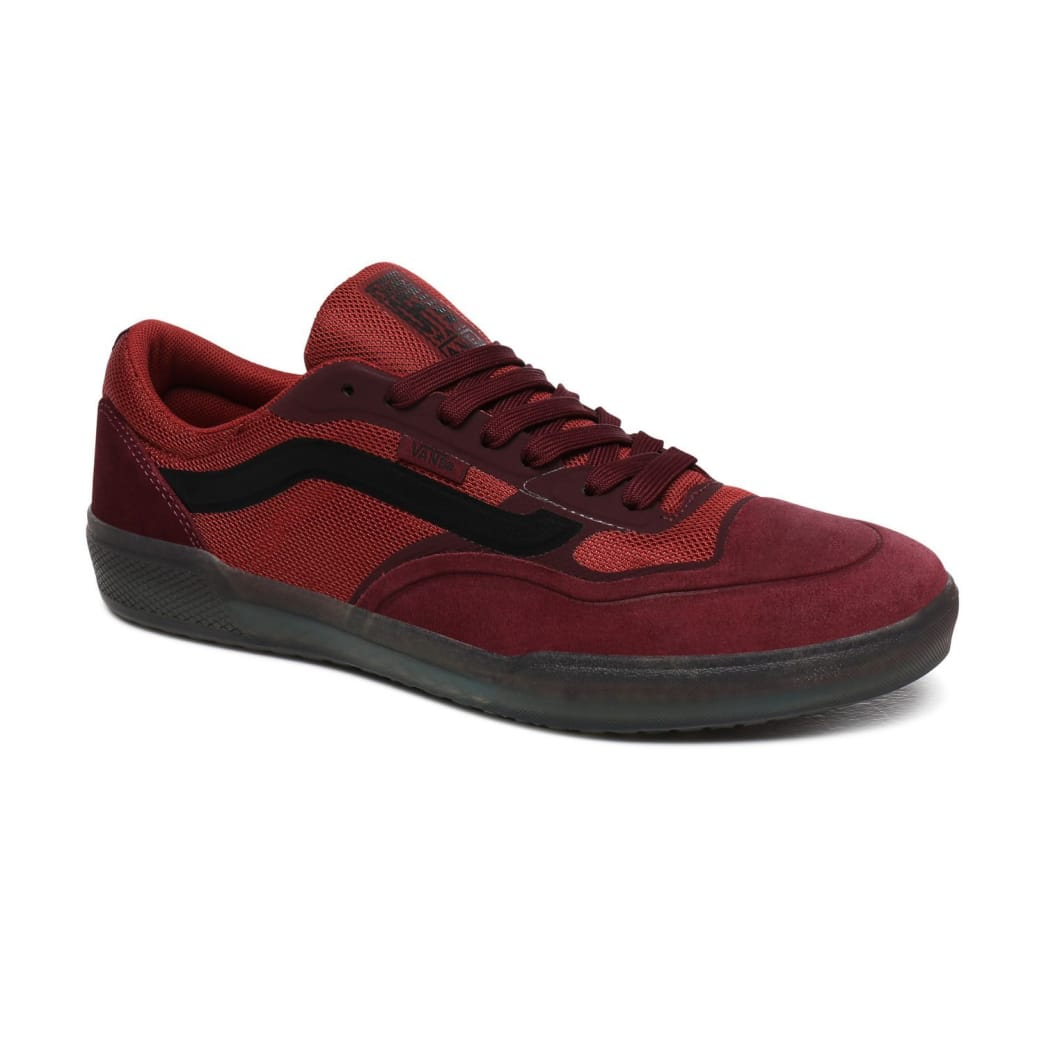 Vans AVE Pro Skate Shoes - Port Royale / Rosewood | Shoes by Vans 4