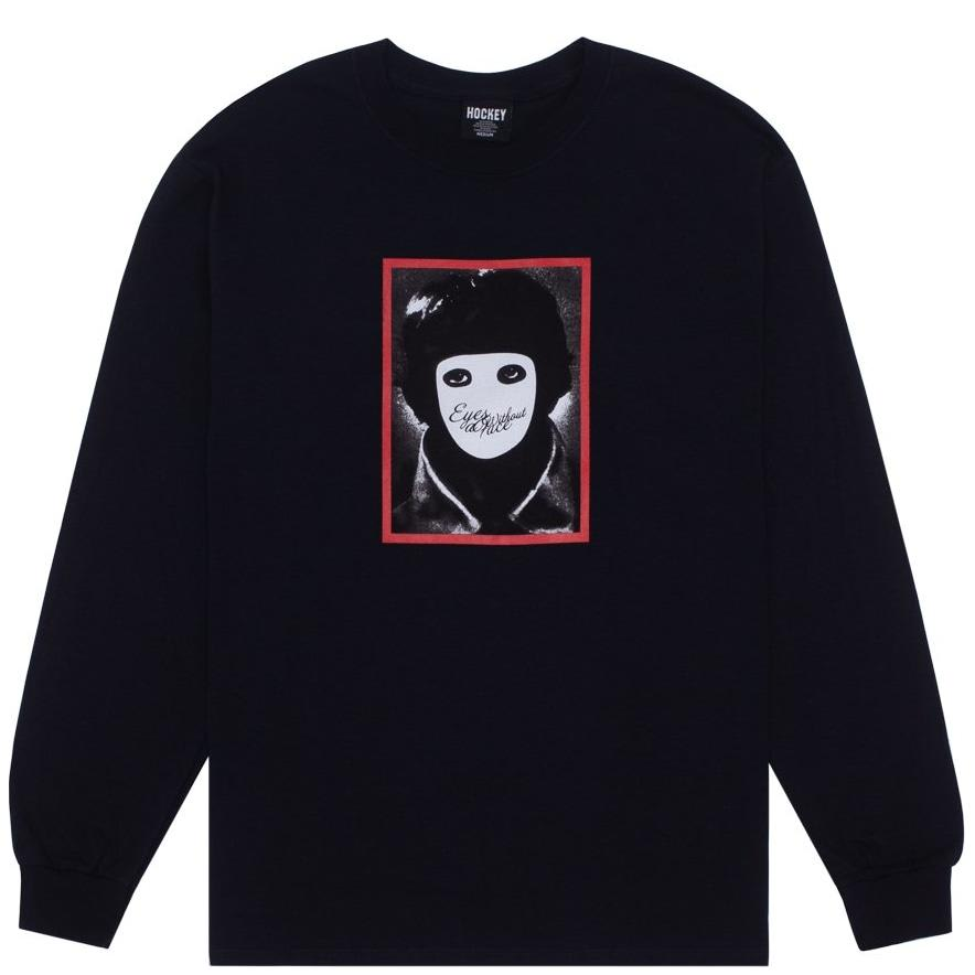 Hockey No Face Long Sleeve T-Shirt - Black | Longsleeve by Hockey Skateboards 1