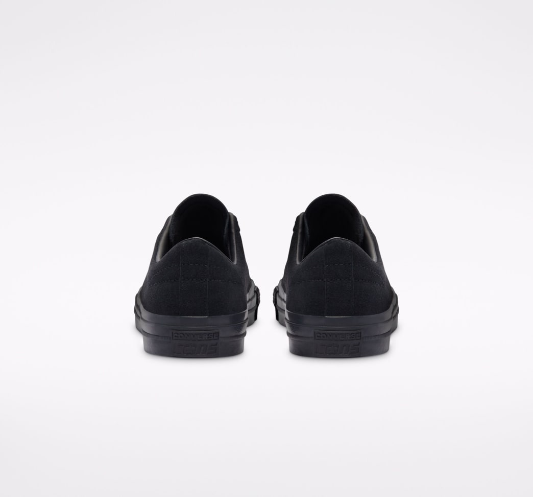 Converse CONS One Star Pro AS Low Top Shoes - Black / Black / Black   Shoes by Converse Cons 8