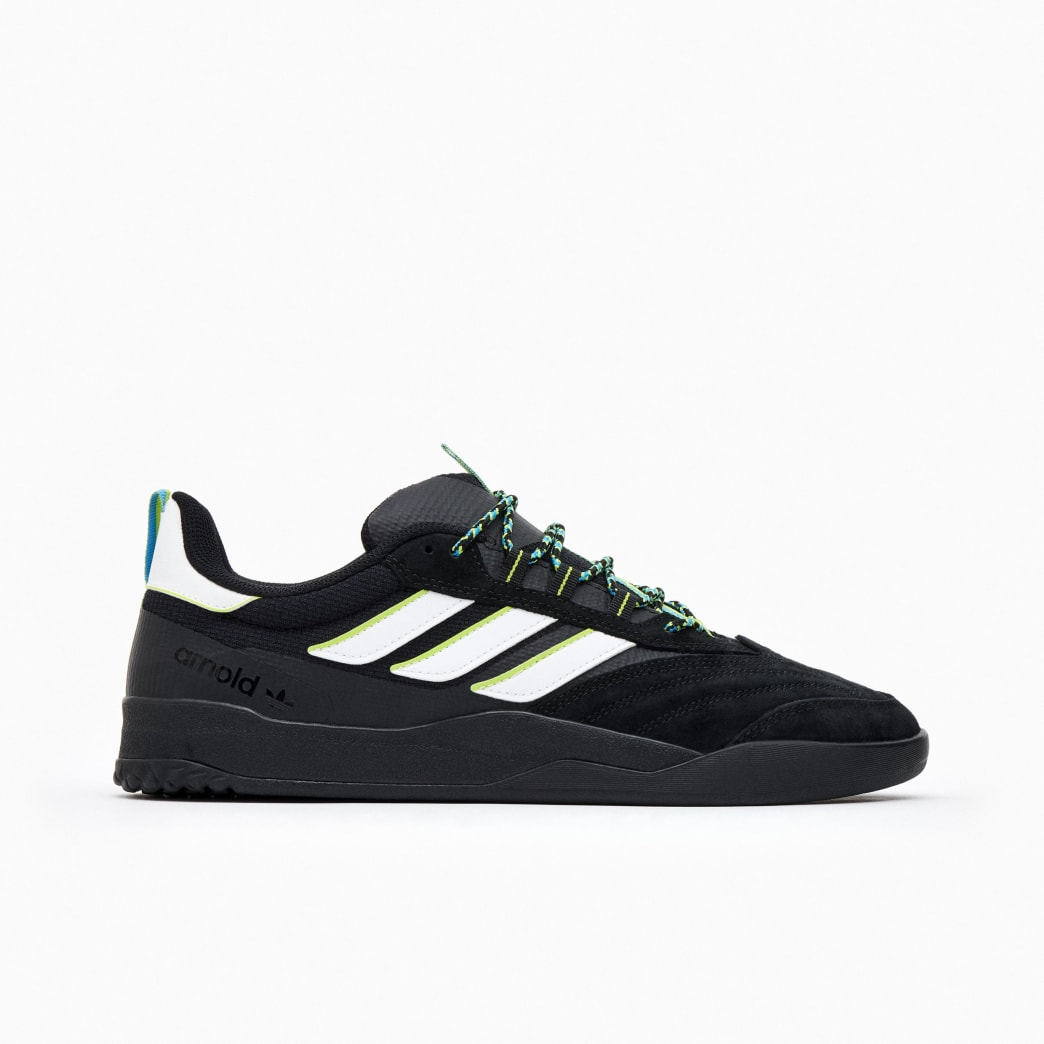 adidas Copa Nationale x Mike Arnold Skate Shoe - Core Black / FTWR White / Customised | Shoes by adidas Skateboarding 1