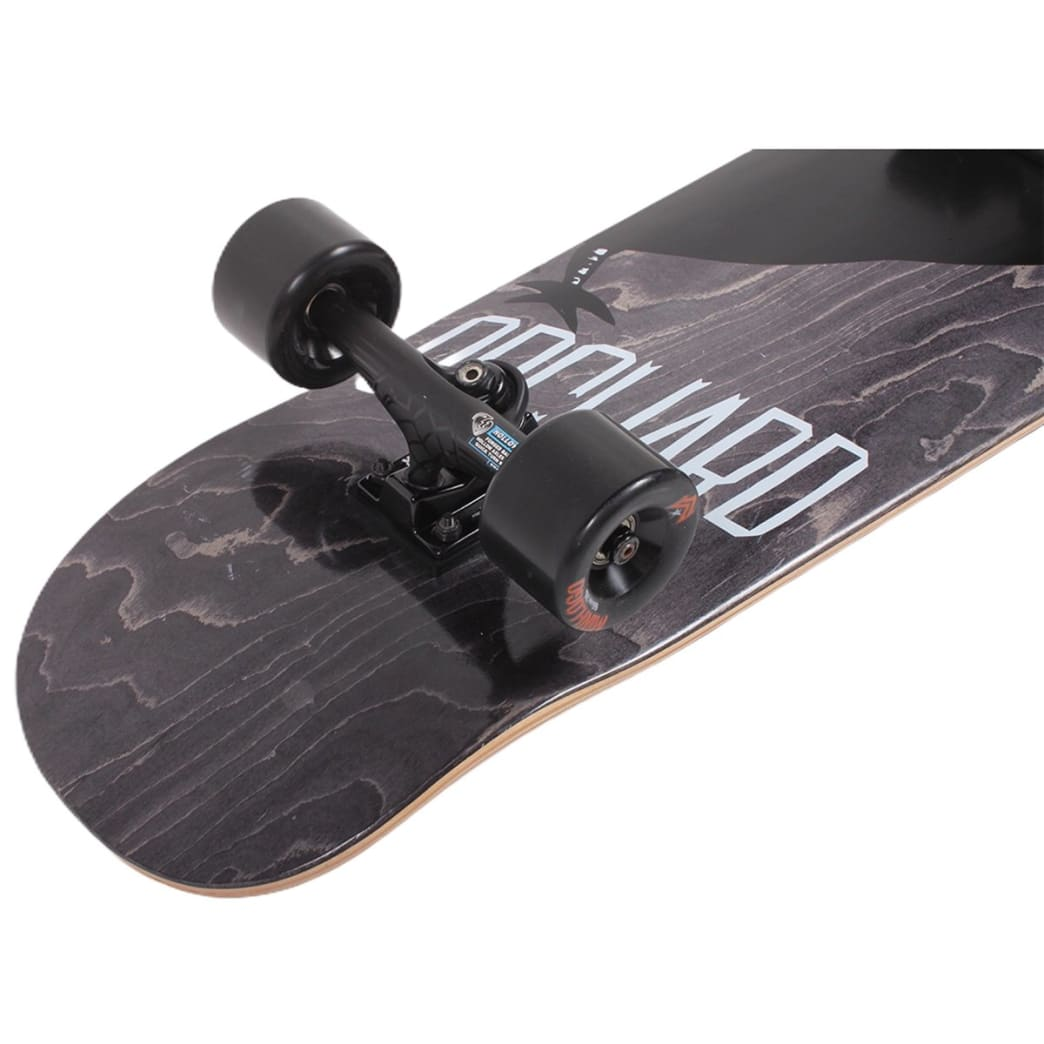 Orchard Assembled Cruiser Complete Bird Blackout Drippy Shape 9.1 | Complete Skateboard by Orchard 2