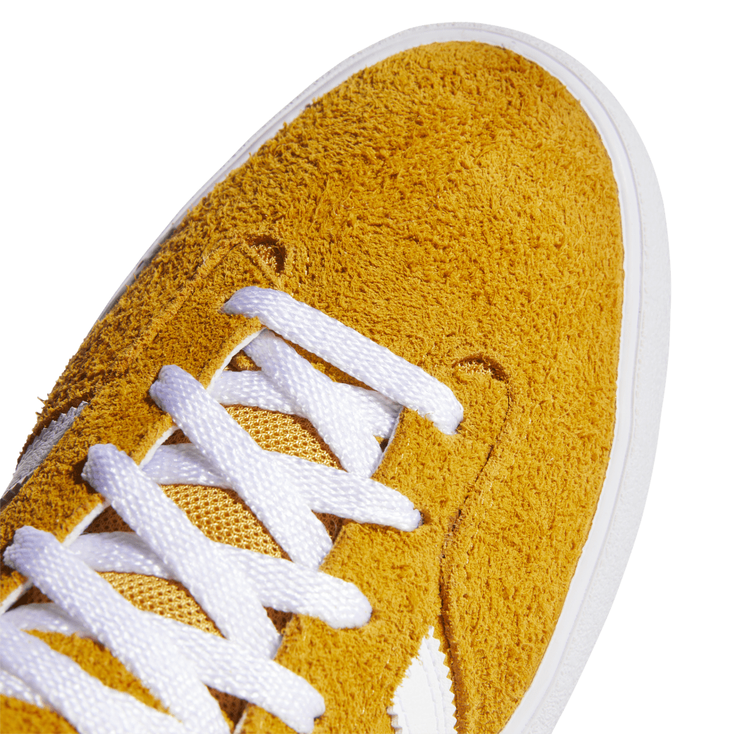 adidas Matchbreak Super Skate Shoes - Tactile Yellow / FTWR White / Gold Met | Shoes by adidas Skateboarding 7