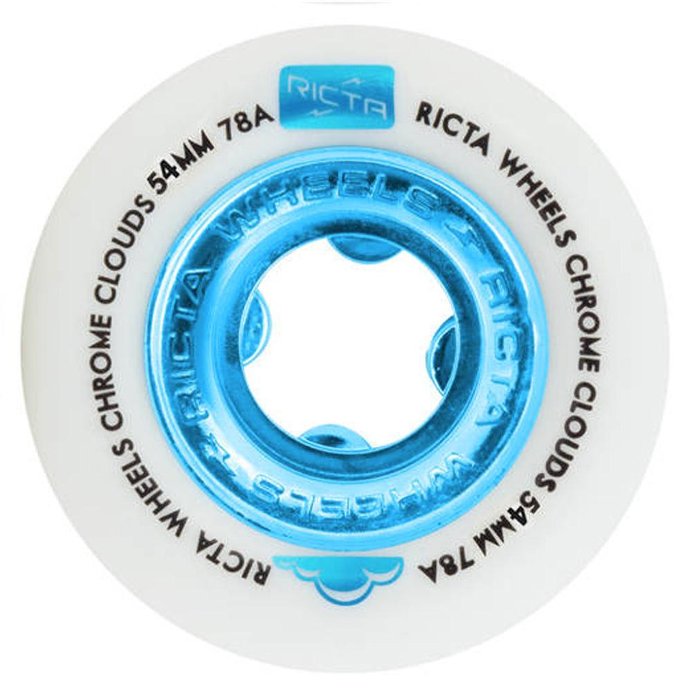 Ricta Wheels - Chrome Clouds Cruiser Wheels 78A 54mm | Wheels by Ricta Wheels 1