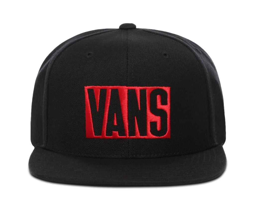 Vans New Stax Snapback - Black/Red | Hat by Vans 2
