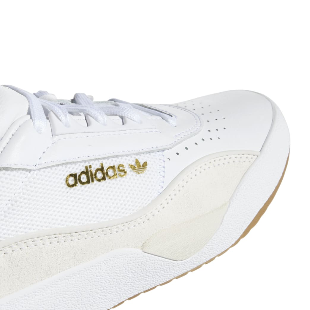adidas Liberty Cup Skateboarding Shoe - Cloud White/Gold Metallic/Gum | Shoes by adidas Skateboarding 8