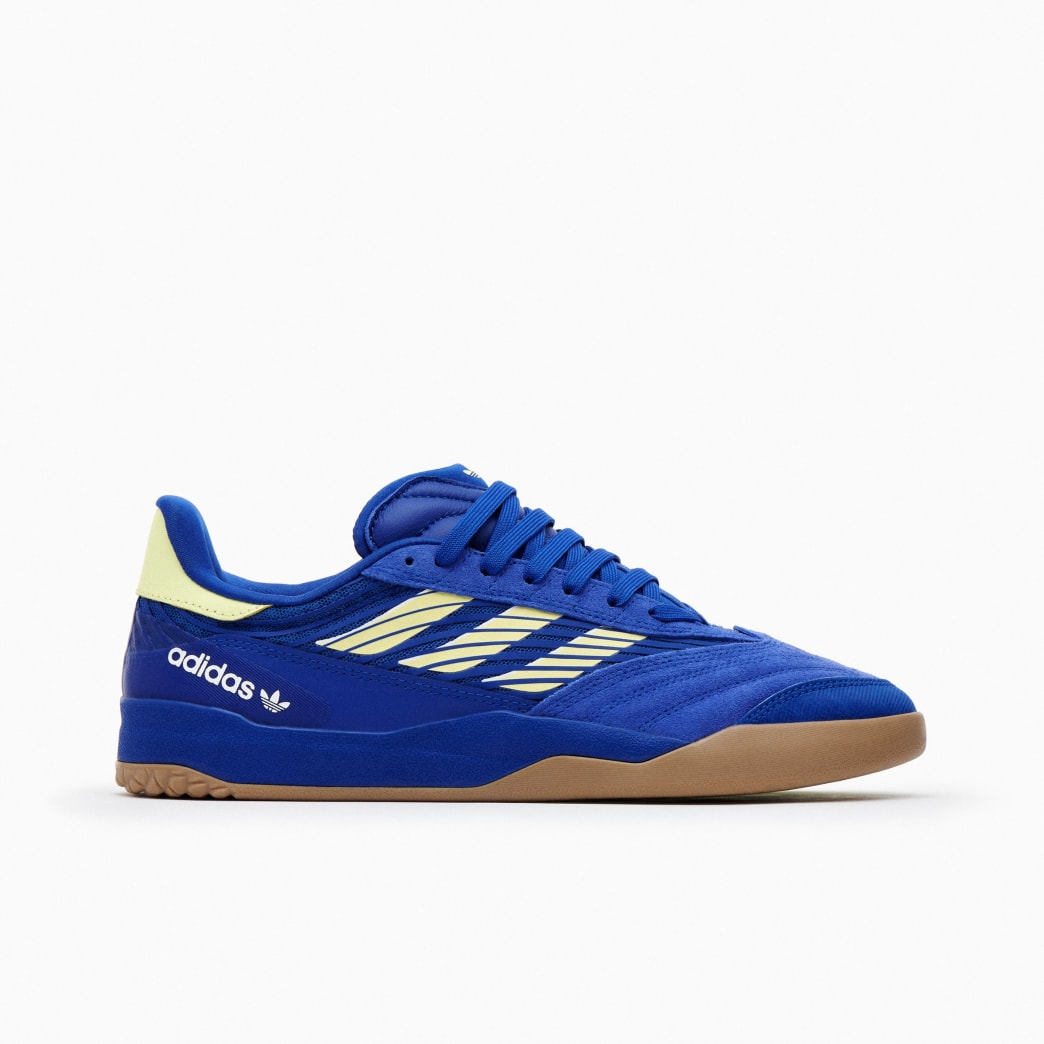 Adidas Copa Nationale Skate Shoe - Team Royal Blue / Yellow Tint / FTWR White | Shoes by adidas Skateboarding 1