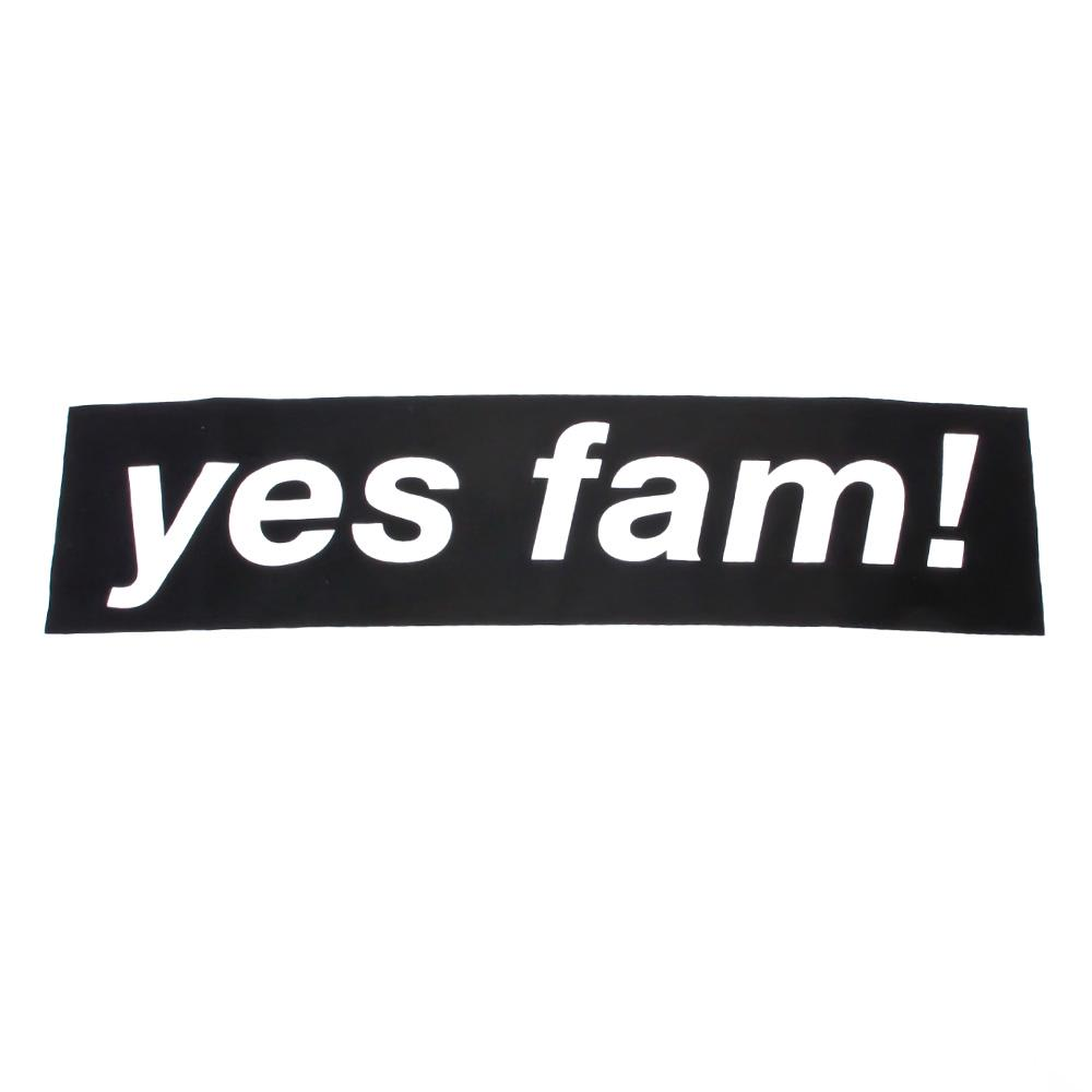 Yes Fam! Logo T-Shirt - White / Black | T-Shirt by Yes Fam! 2