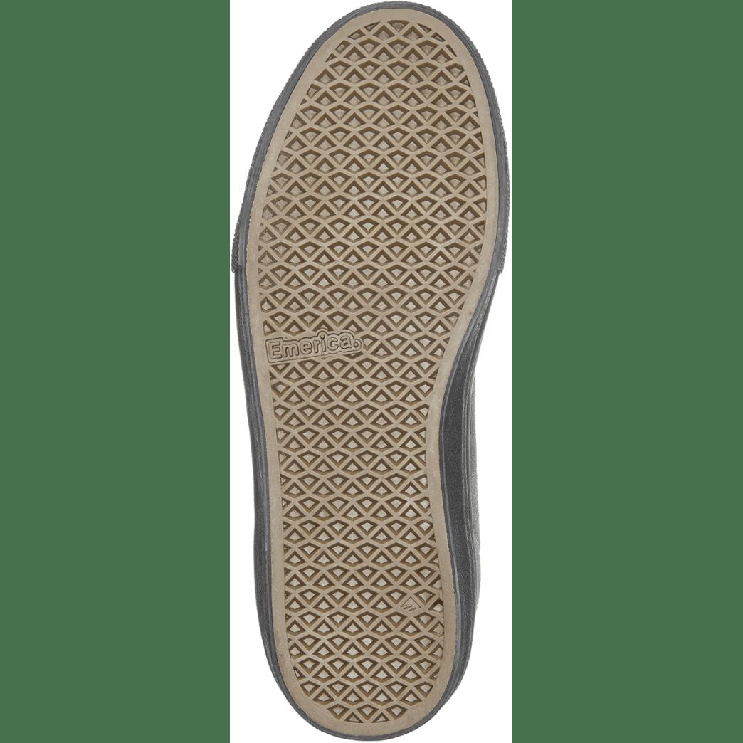 Emerica Omen Hi x Santa Cruz Skate Shoe - Grey / Black   Shoes by Emerica 4