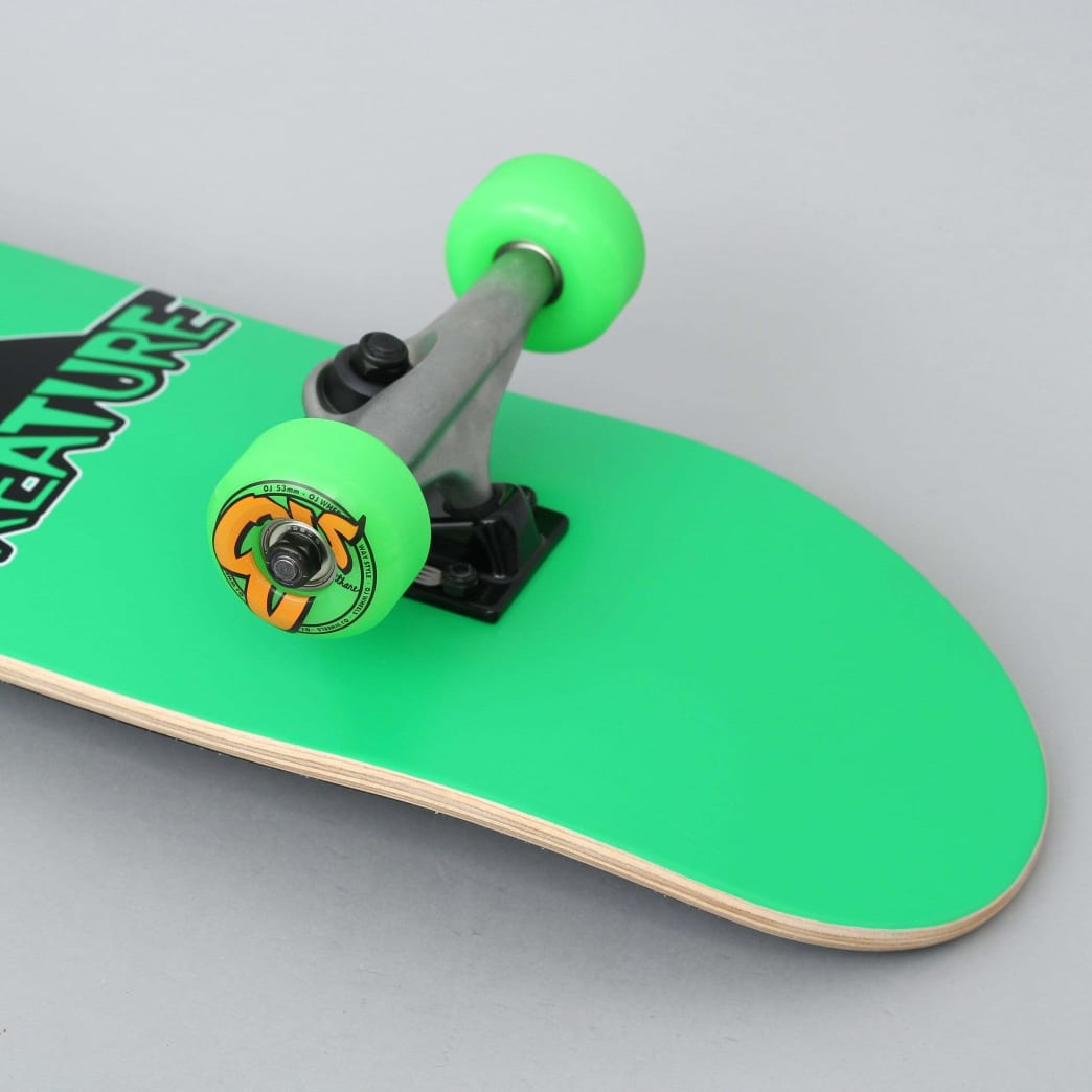 Creature 7.25 Vamp Mini Complete Skateboard Green | Complete Skateboard by Creature Skateboards 2